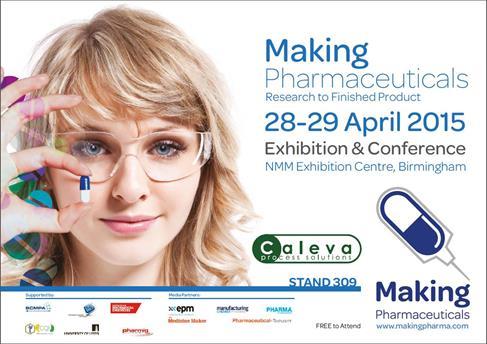 Caleva at Making Pharma 2015