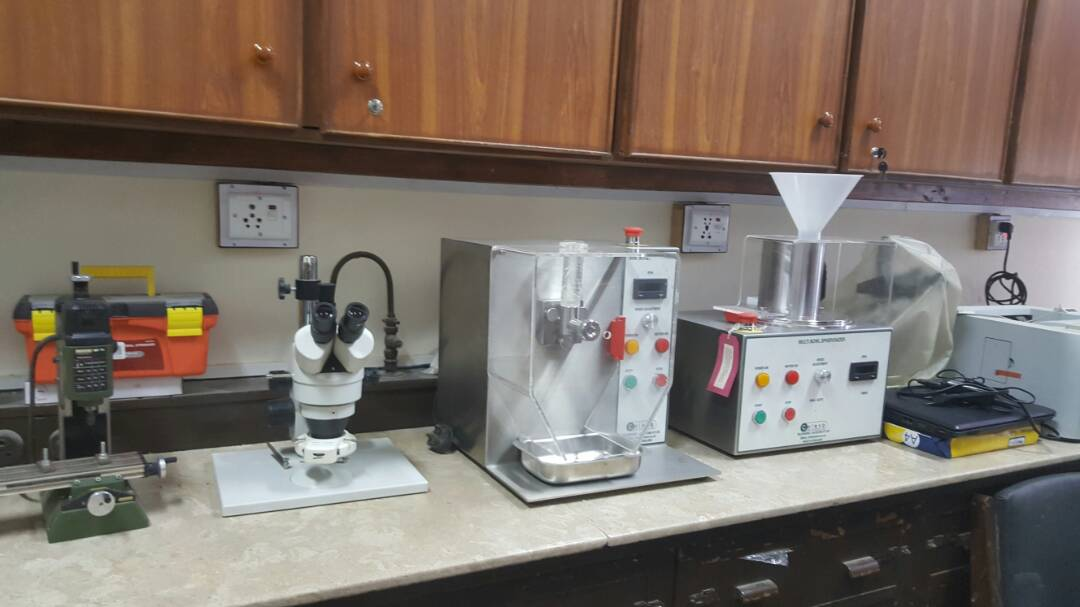 Caleva lab equipment Faculty of Pharmacy University of Karachi
