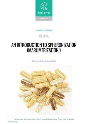 pdf download of brief guide to spheronization