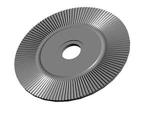 Radial-cut- disc