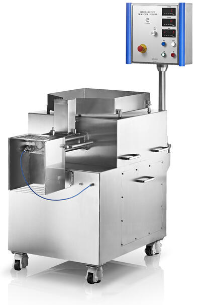 Twin-screw-variable-density-extruder-for-commercial-manufacture