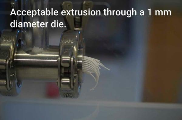 acceptable-extrusion-through-a-1mm-diameter-die