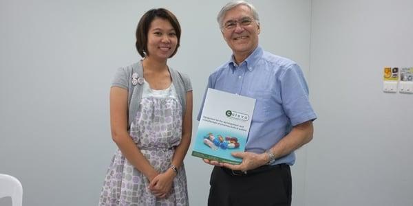 Dr Attawadee Sae Yoon at the Shcool of Pharmacy at Walailak University