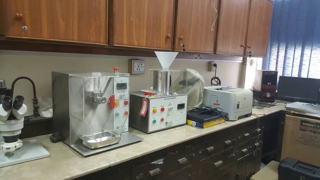 Caleva-Extruder-20-and-Multi-Bowl-Spheronizer-in-the-laboratory-at-University-of-Karachi