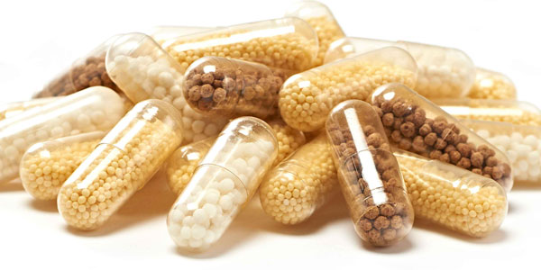Caleva drug pellets including coated omeprezole