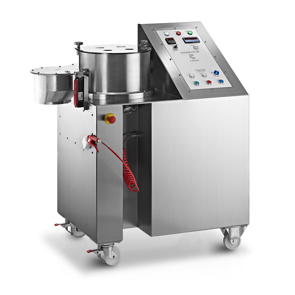 Caleva Extruder 35 and Spheronizer 380 for up to 50 kg per hour pellets