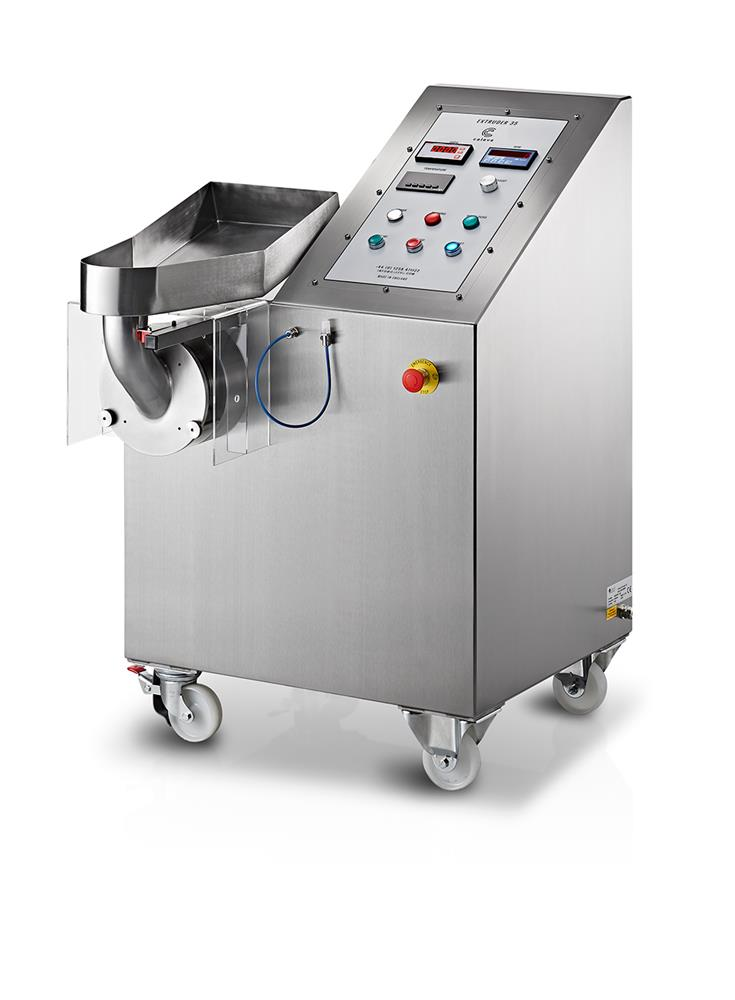 Caleva extruder 35 pilot scale extrusion system for up to 100kg per hour