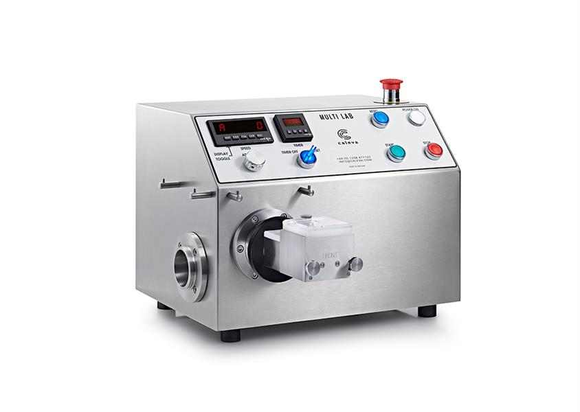 Caleva Multi Lab for teaching with Mixer attached