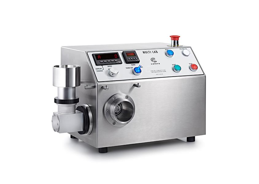 Caleva Multi Lab with spheronizer attachment in place for university students